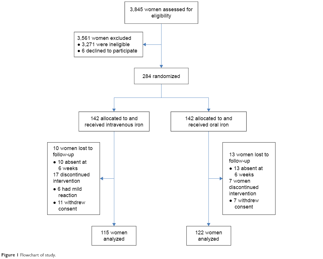 Full text effect of treatment with single total dose intravenous figure 1 flowchart of study geenschuldenfo Choice Image