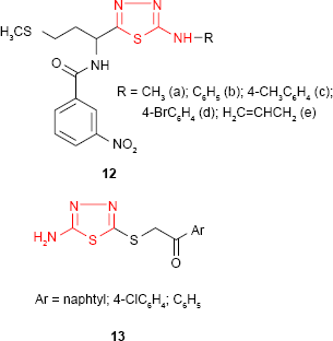 Full text] 2-Amino-1,3,4-thiadiazole as a potential scaffold for