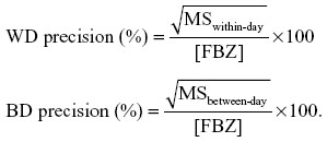 Full text] Plasma concentrations of fenbendazole (FBZ) and