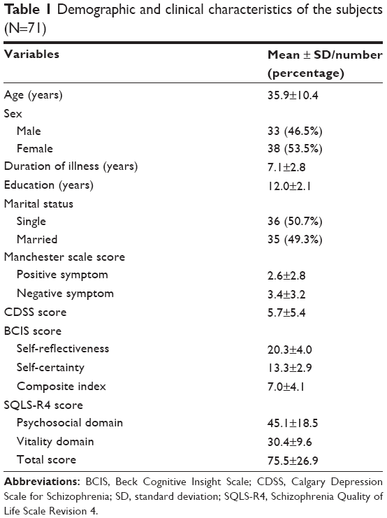 self-assessment questionnaire on functional status in schizophrenia pdf